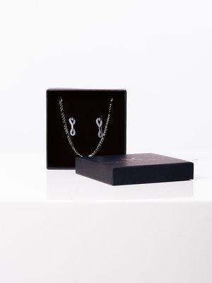A. Kjærbede Marian Sunglass Cord Silver