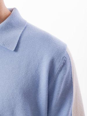 Castart Topolino Knitted Polo Light Blue