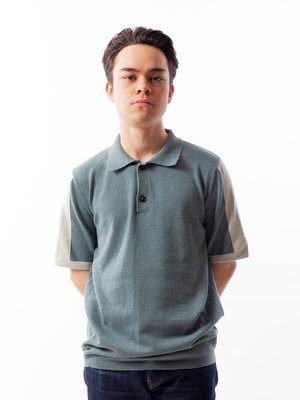Castart Topolino Knitted Polo Green