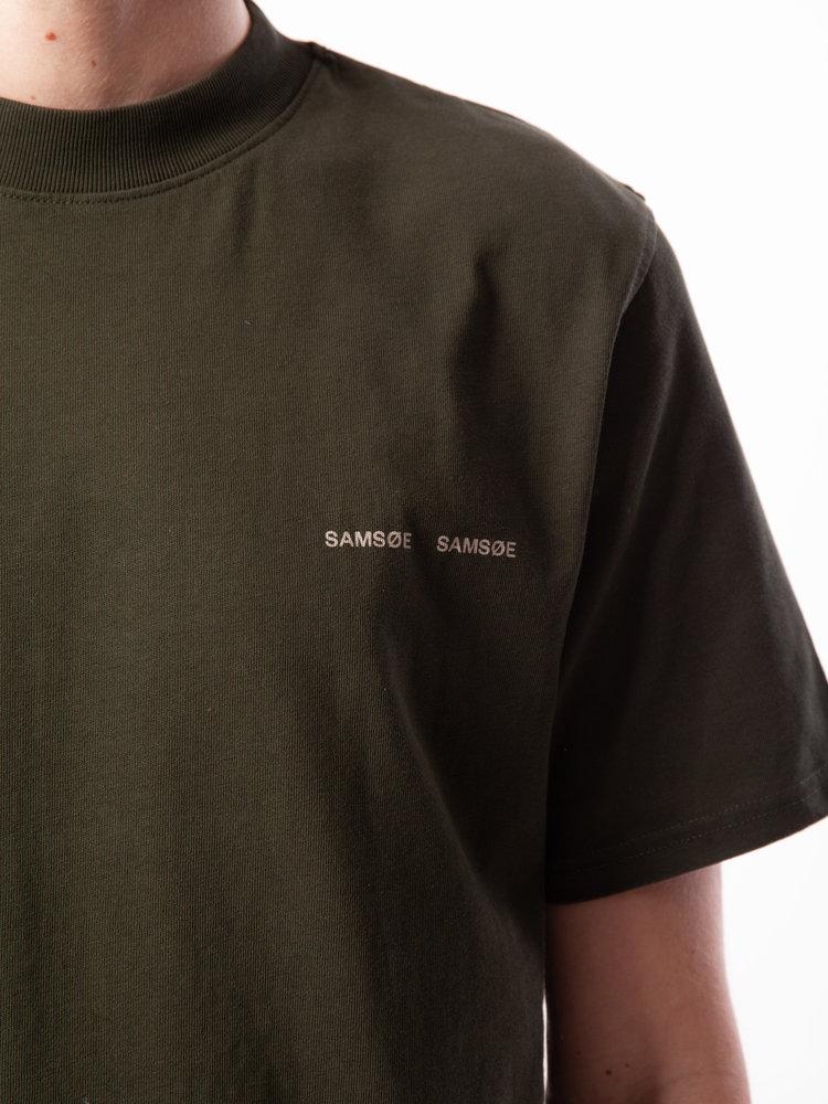 Samsøe Samsøe Norsbro T-Shirt Kambu Green