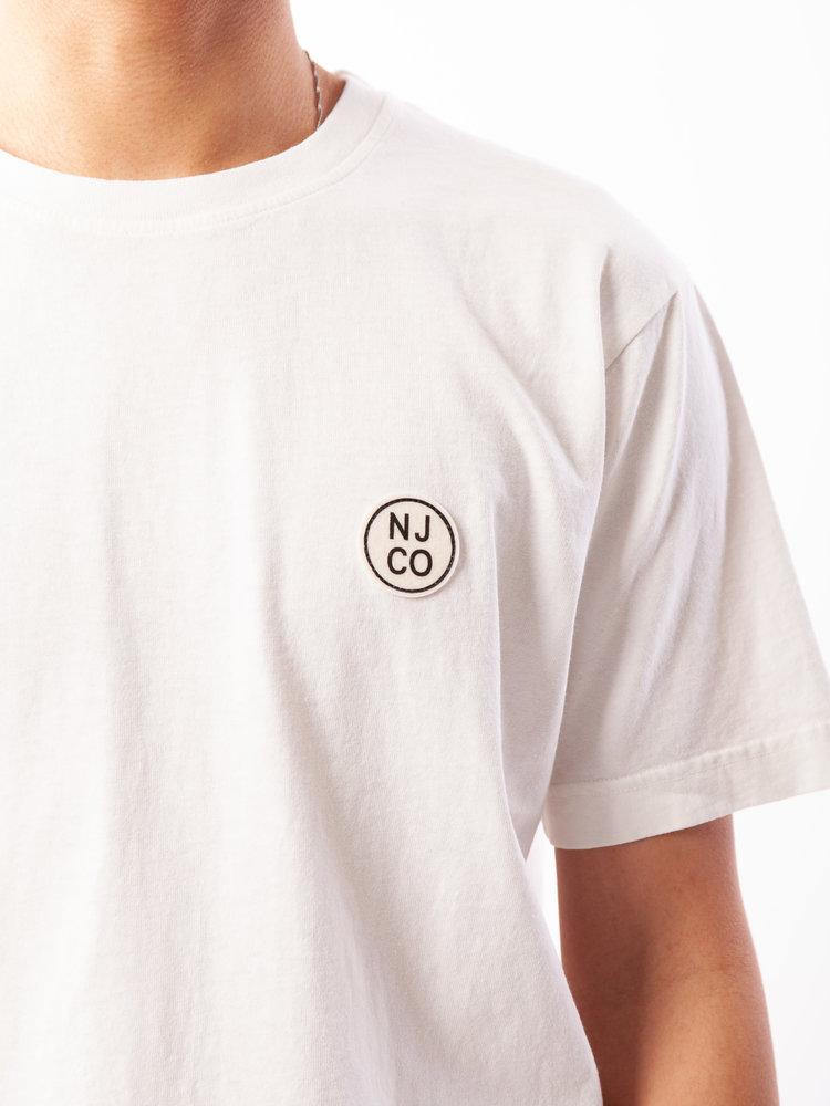 Nudie Jeans Uno NJCO Circle Chalk White