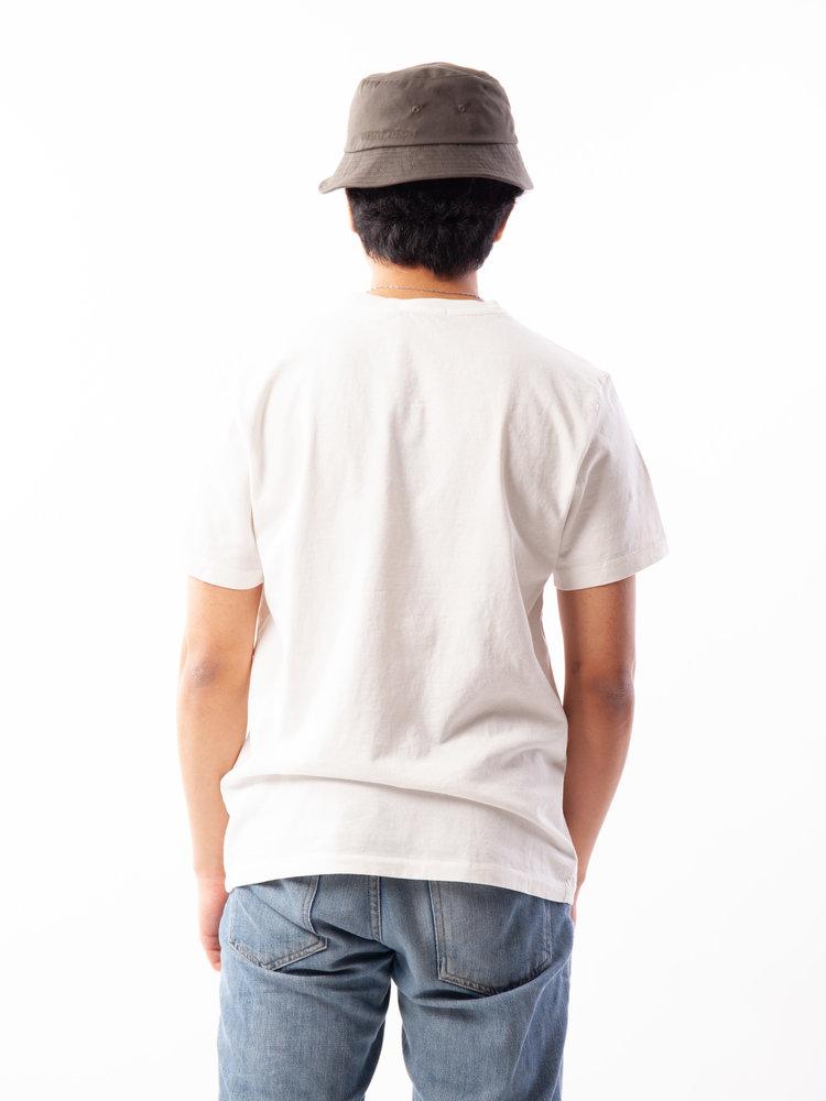 Nudie Jeans Nudie Jeans Roy Ghost Chalk White