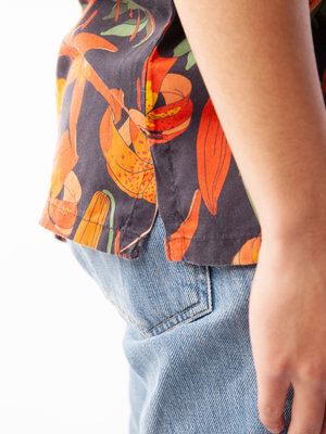 Nudie Jeans Nudie Jeans Arvid Lilies Black