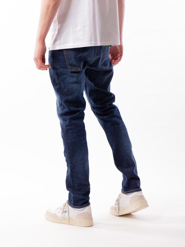 Nudie Jeans Lean Dean Dark Deep Worn