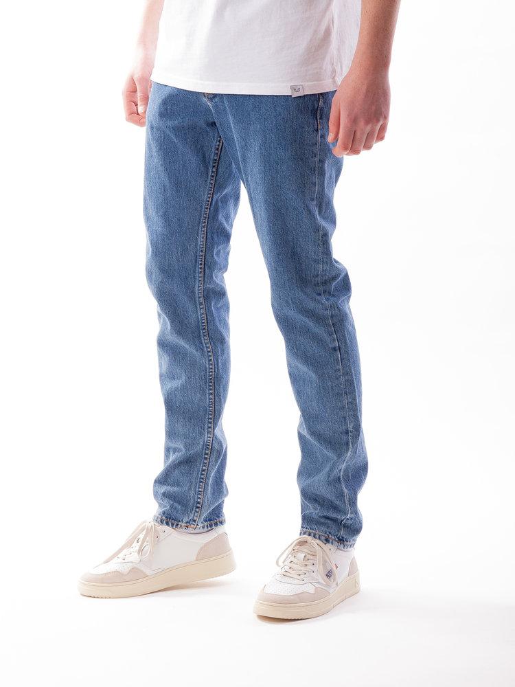 Nudie Jeans Steady Eddie II Friendly Blue