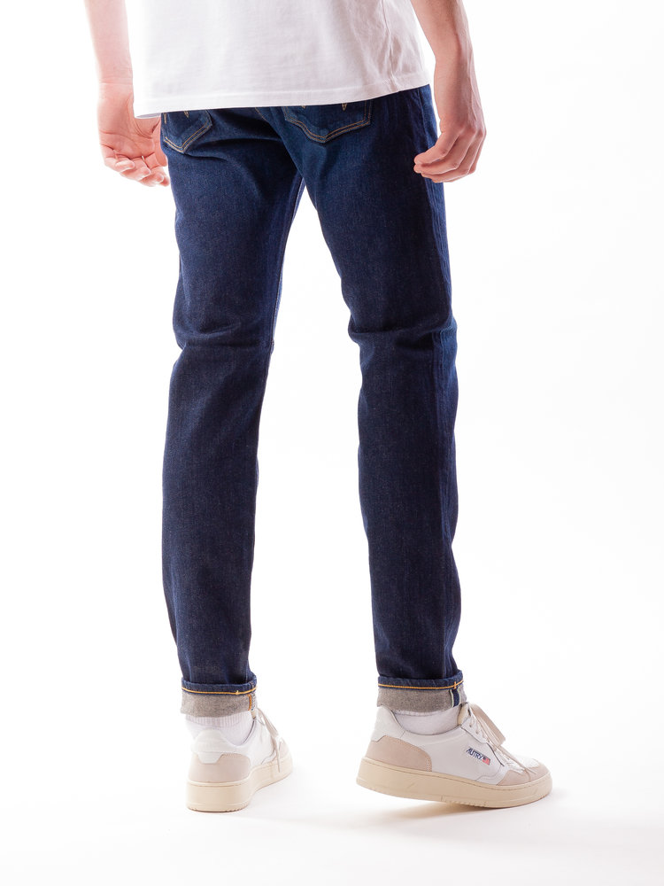 Edwin Jeans Slim Tapered Kaihara Selvage Blue  Stretch Blue Dark Used