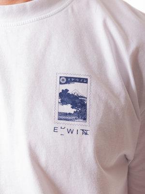 Edwin Jeans Fuji Scenery Tee White