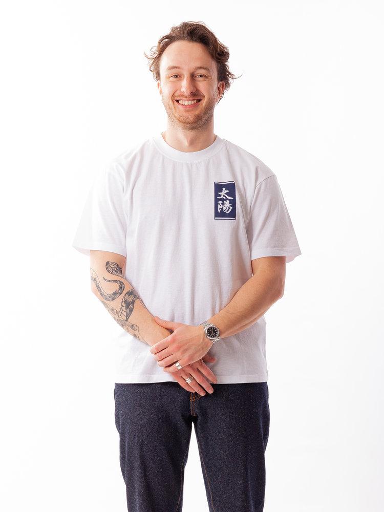 Edwin Jeans Tarot Deck Tee White