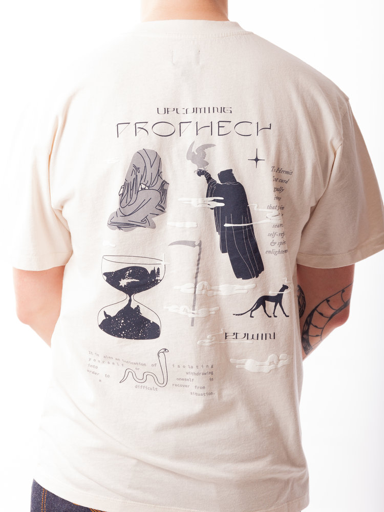 Edwin Jeans Edwin Jeans Upcoming Prophecy Tee Whisper White