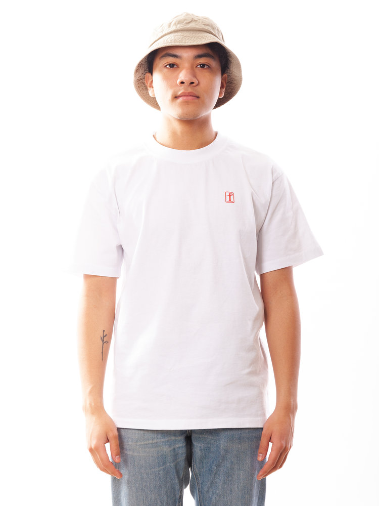 Edwin Jeans Fortress Collage Tee White