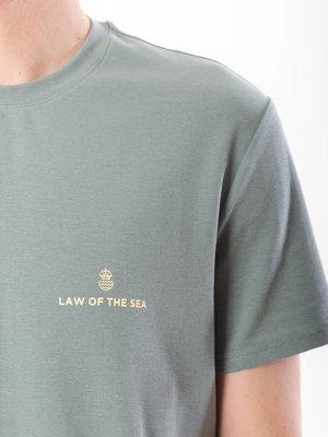 Law Of The Sea Veins Teal Ocean