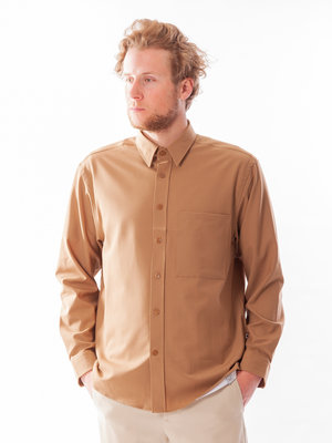 NN07 NN07 Arthur Overshirt Light Canela