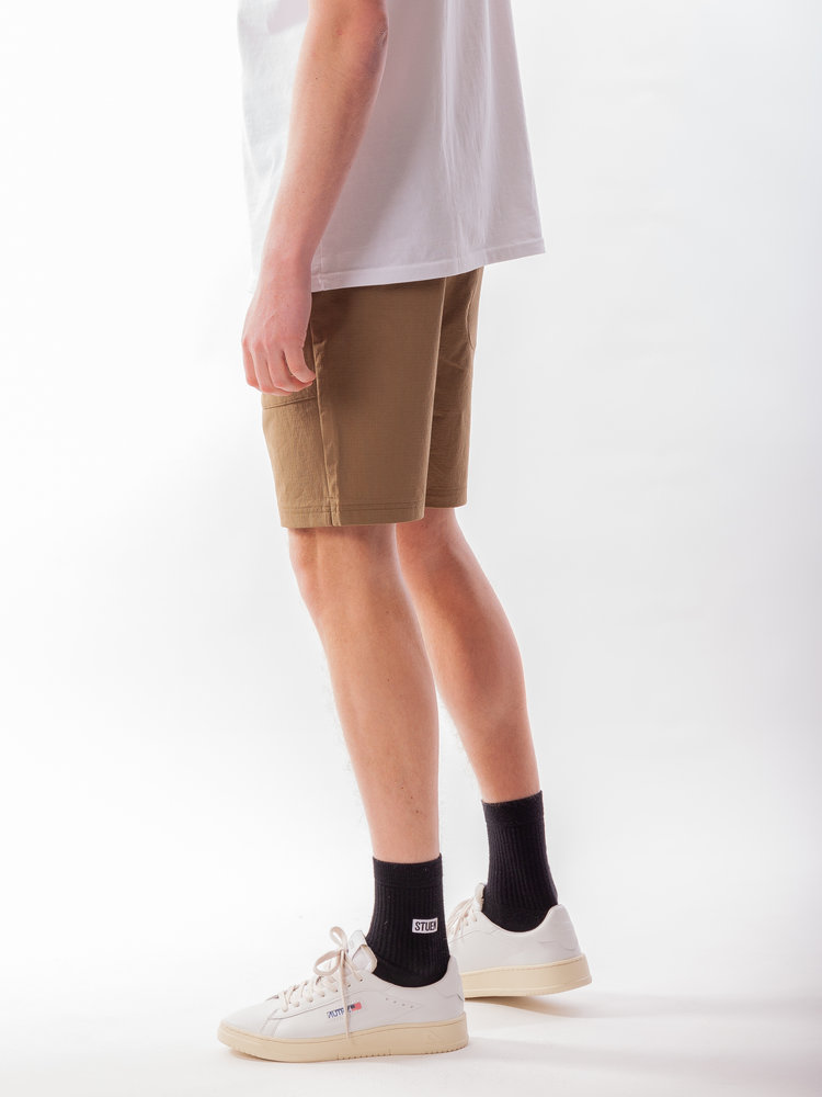 Just Junkies Just Junkies Lemo Shorts Ribstop Brown