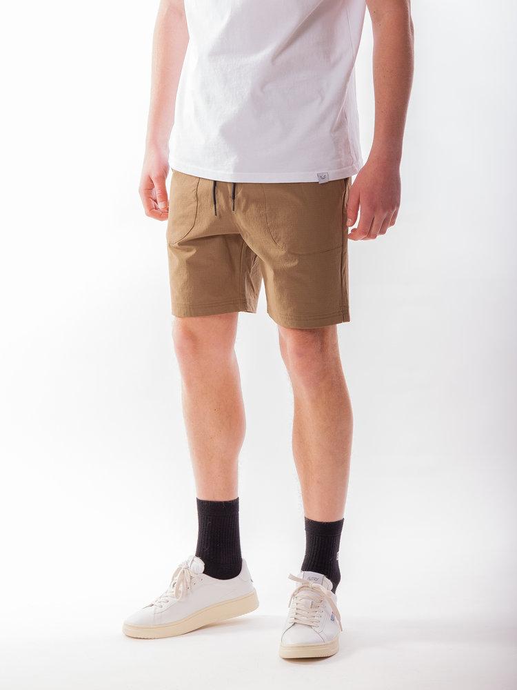 Just Junkies Lemo Shorts Ribstop Brown