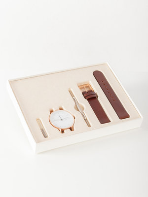 INSTRMNT INSTRMNT Everyday 40mm Rose Gold/Brown