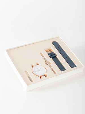 INSTRMNT INSTRMNT Everyday 40mm Rose Gold/Navy