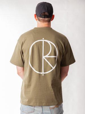 Polar Skate Co. Polar Skate Co. Stroke Logo Tee Uniform Green