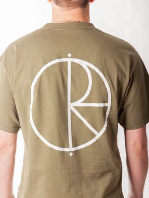 Polar Skate Co. Stroke Logo Tee Uniform Green