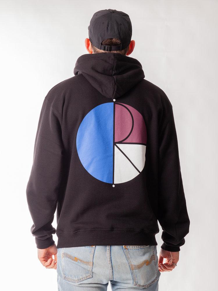 Polar Skate Co. Polar Skate Co. 3 Tone Fill Logo Hoodie Black