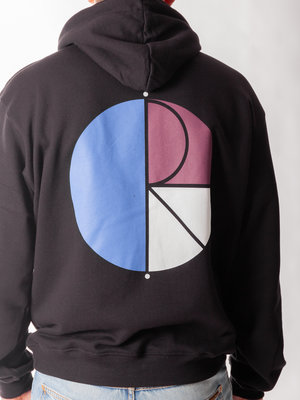 Polar Skate Co. 3 Tone Fill Logo Hoodie Black