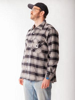 Polar Skate Co. Flannel Shirt Black Checked