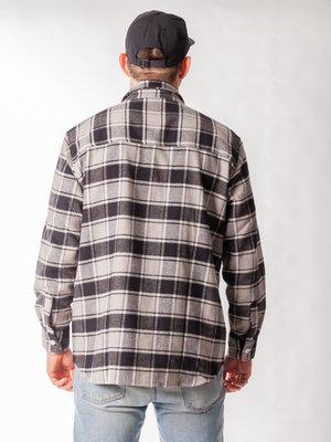 Polar Skate Co. Polar Skate Co. FLannel Shirt Black Checked