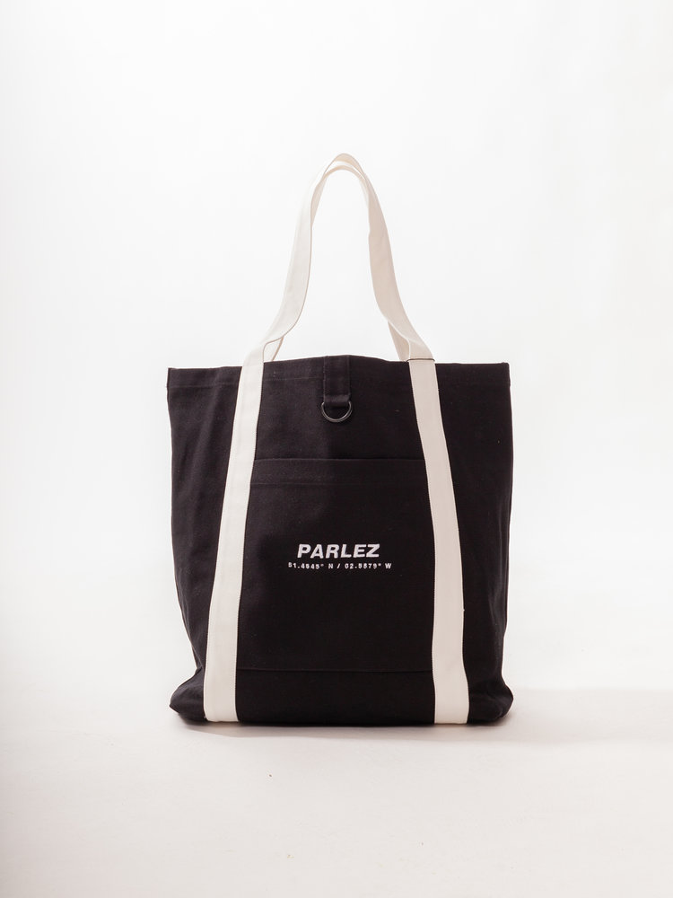 PARLEZ Cutter Tote Bag Black