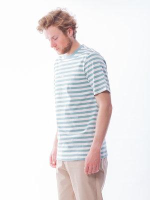 PARLEZ Ladsun Heavy Stripe Tee Sage