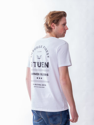 STUEN.Label Summer Sliders Tee White