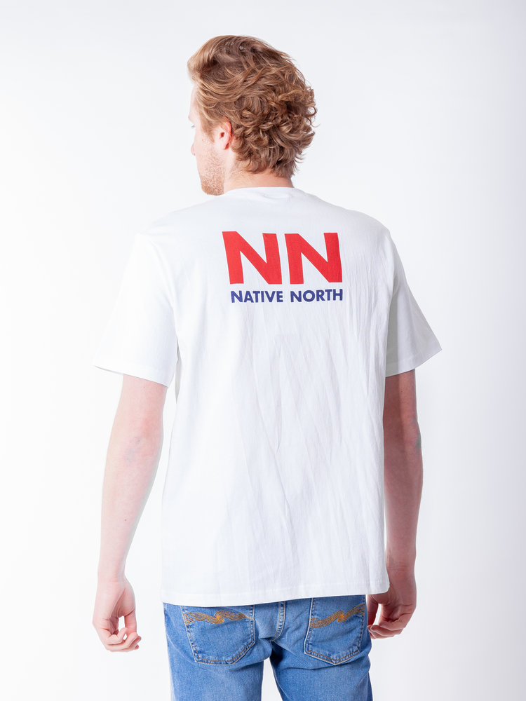 Native North L7 Logo Tee White