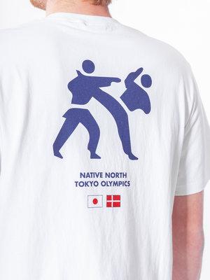 Native North Olympic Kung Fu Tee White