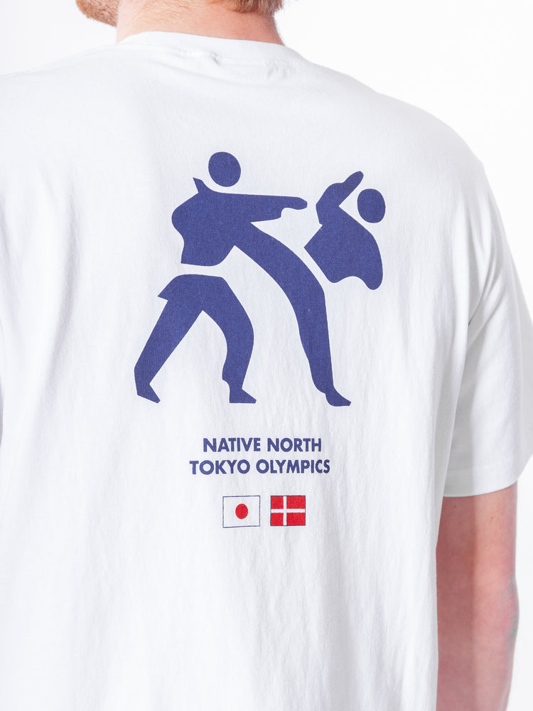 Native North Native North Olympic Kung Fu Tee White
