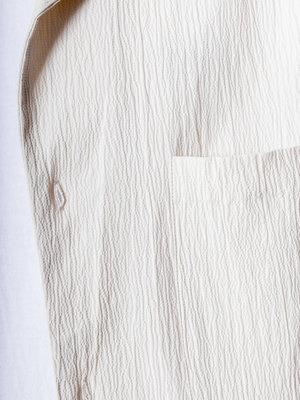 Native North Native North Seersucker Shirt Beige