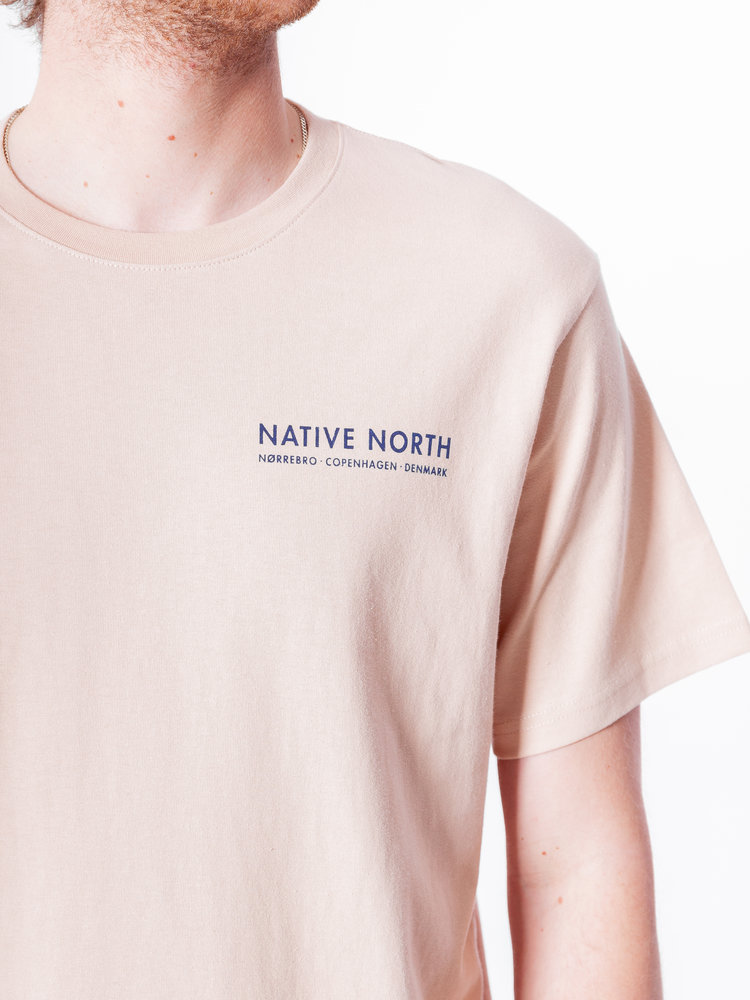 Native North Nørrebro Bike Tee Sand