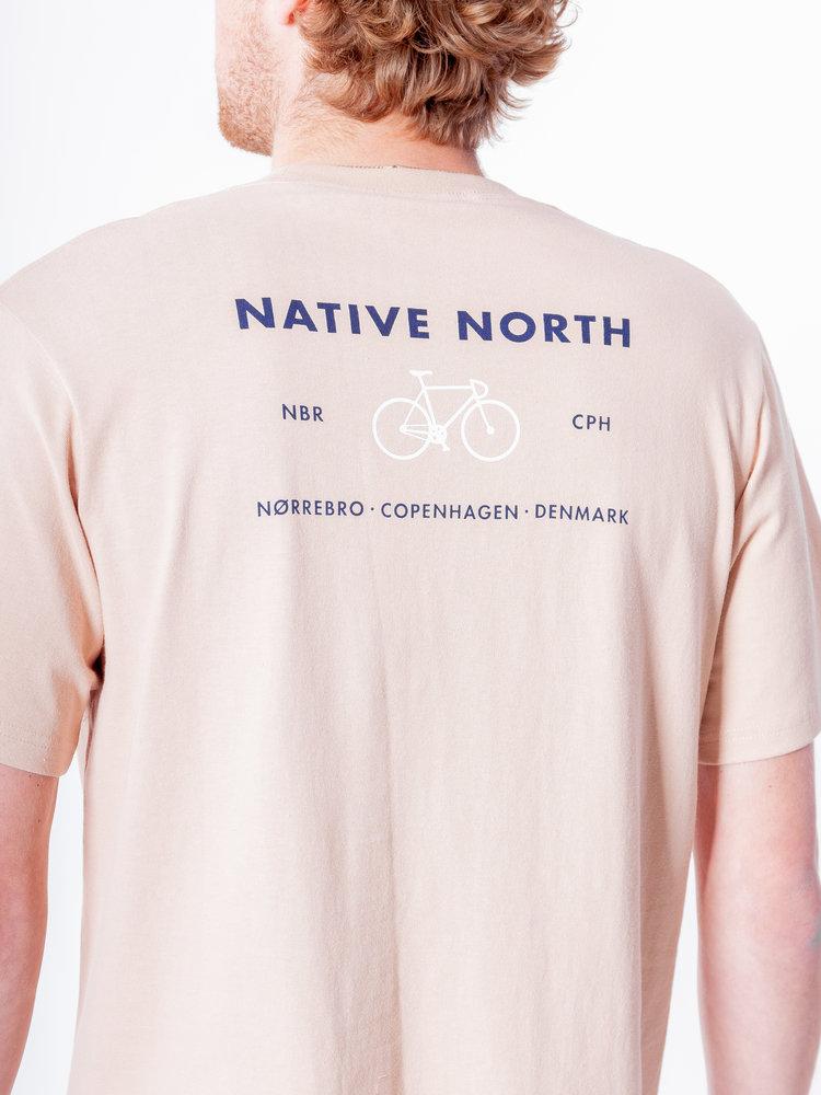 Native North Native North Nørrebro Bike Tee Sand