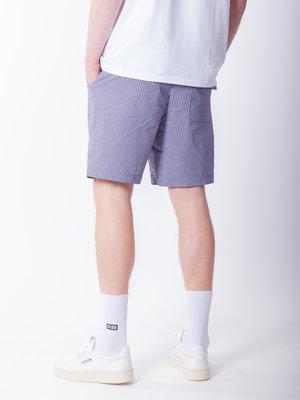 Native North John Striped Shorts Blue