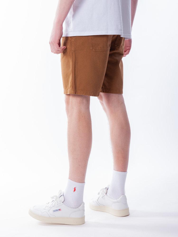 Nudie Jeans  Luke Worker Shorts Rigid Twill Hazel