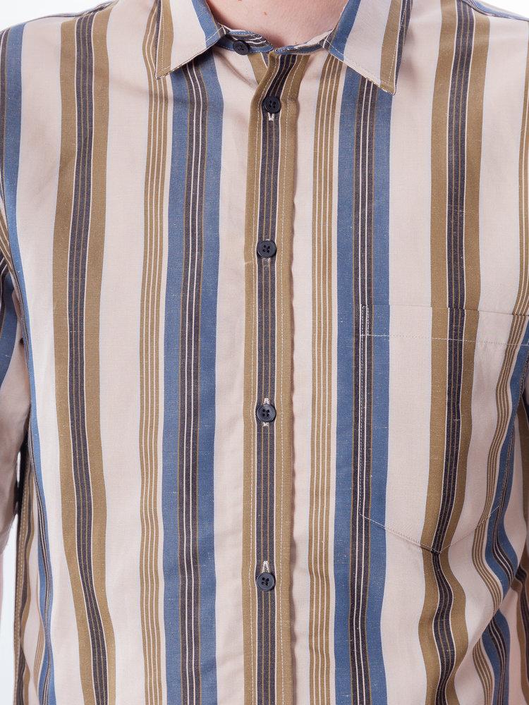 Samsøe Samsøe Samsøe Samsøe Taro NP Shirt Orion Blue Stripe