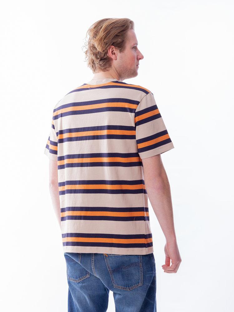 Samsøe Samsøe Samsøe Samsøe Norsbro T-Shirt Golden Ochre Stripe