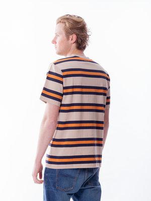 Samsøe Samsøe Norsbro T-Shirt Golden Ochre Stripe