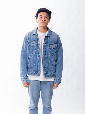 Nudie Jeans Bobby Blue Tribe Denim