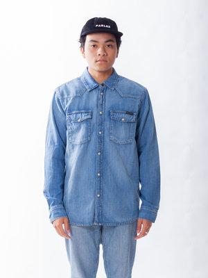 Nudie Jeans Nudie Jeans George Blue Tribe Denim