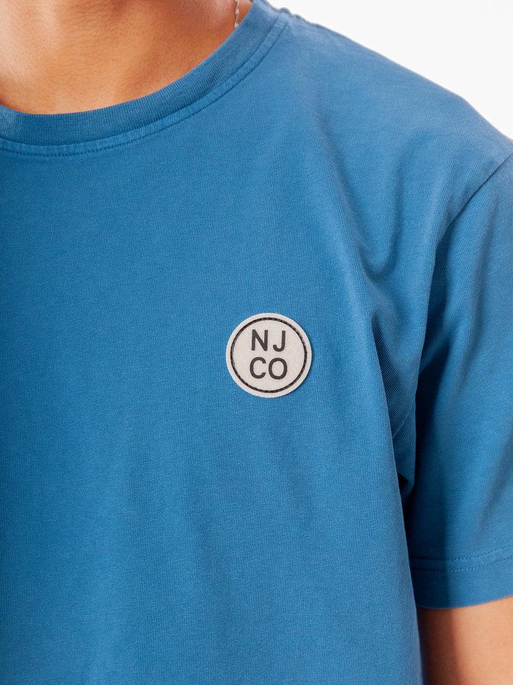 Nudie Jeans Uno NJCO Circle Sky Blue