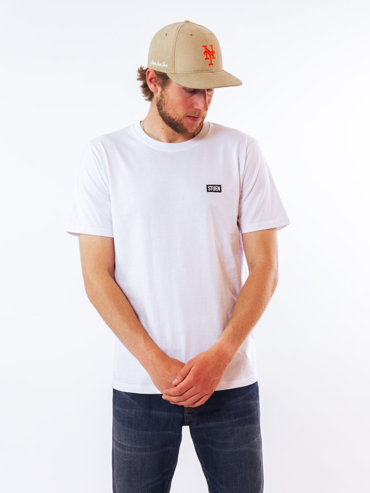 STUEN.Label Storefront Tee White