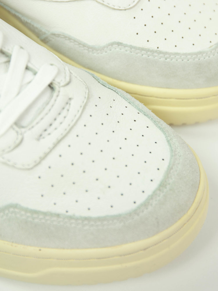 Autry Action Shoes Autry Mid Open All White