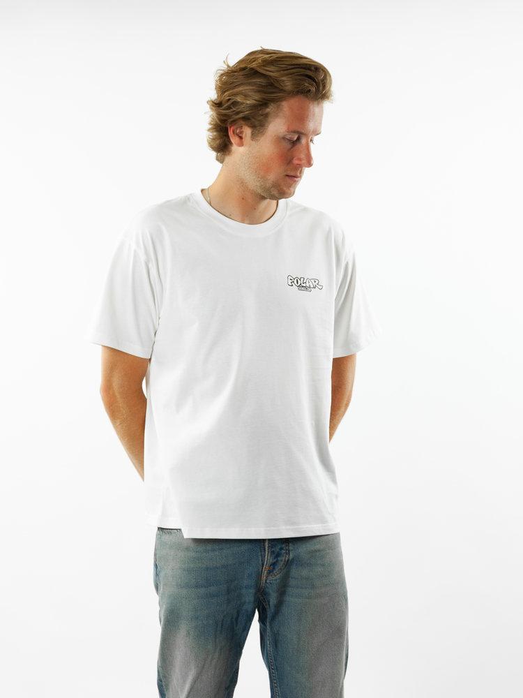 Polar Skate Co. Mt. Fuij Tee White