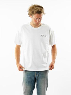 Polar Skate Co. Moving Sheep Fill Logo Tee White