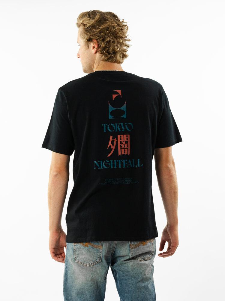 Edwin Jeans Tokyo Nightfall Tee Black