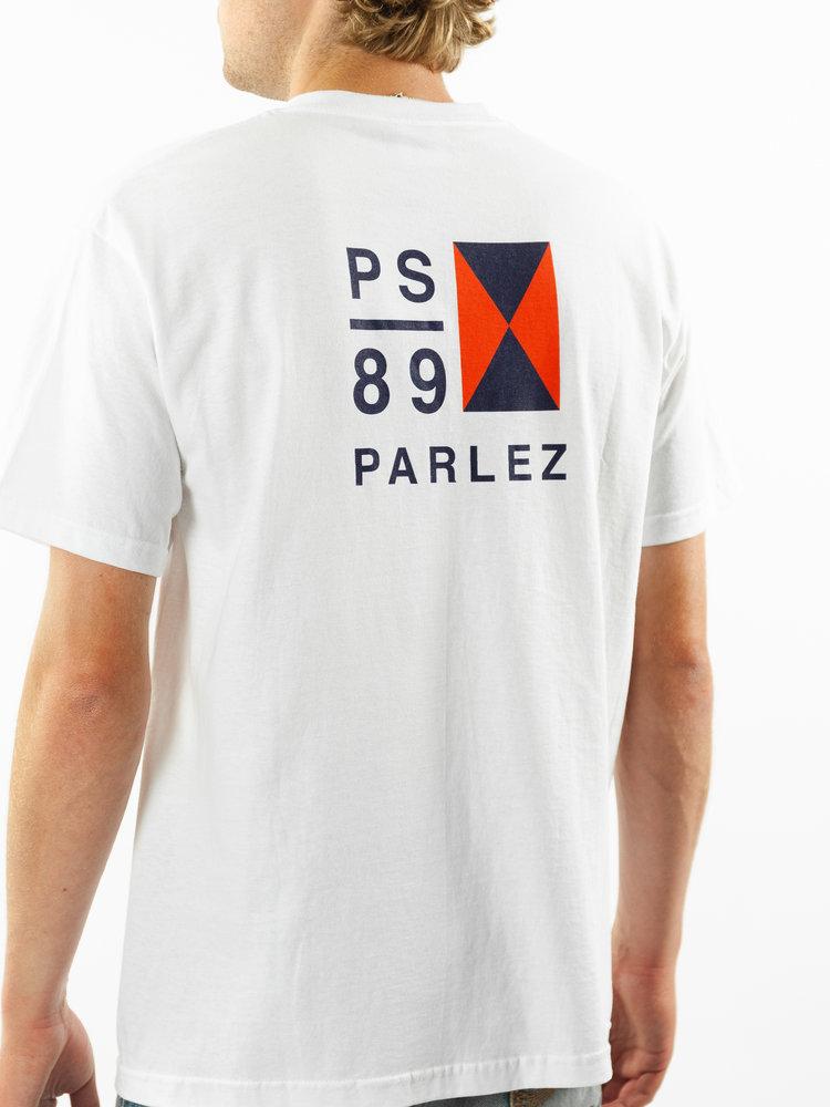 PARLEZ Biscay Tee White