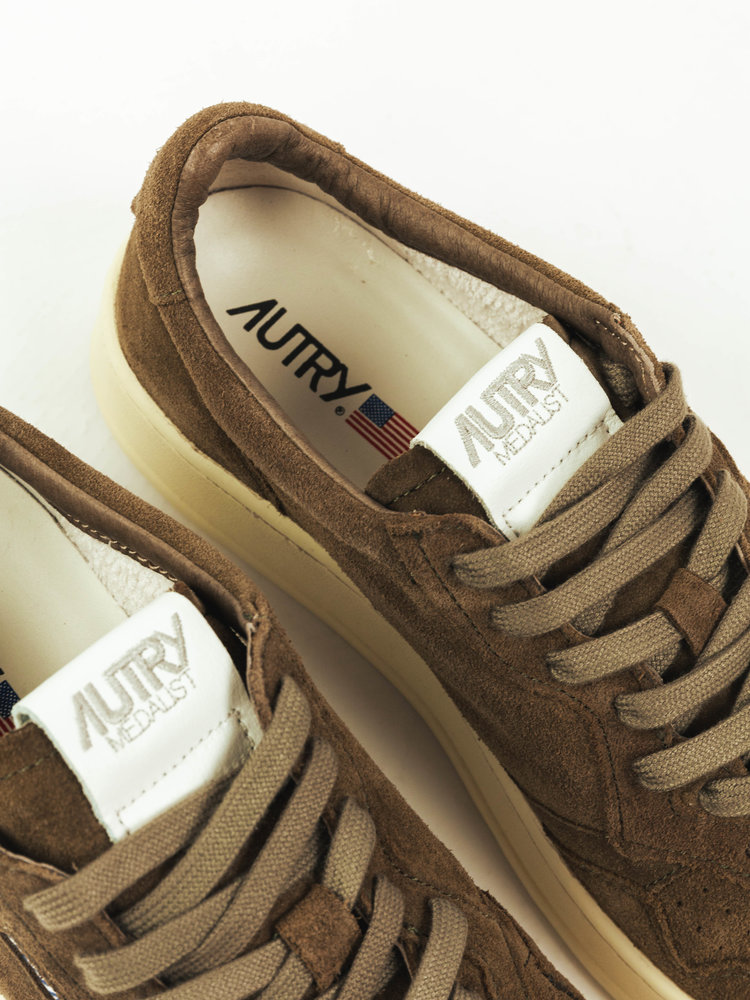 Autry Action Shoes Autry 01 Medalist Suede/Suede Military Green